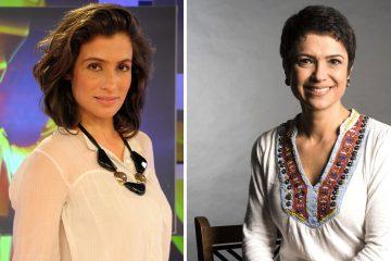 Veja os pezinhos das apresentadoras Sandra Annenberg e Renata Vasconcellos